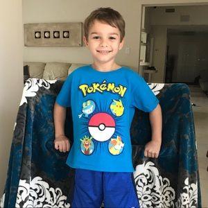 Pokémon T-shirt shirt boys 5/6
